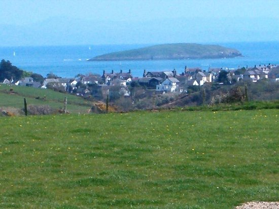 Tyn-Y-Mur Touring and Camping: View from Tyn y Mur camping and caravan site in Abersoch