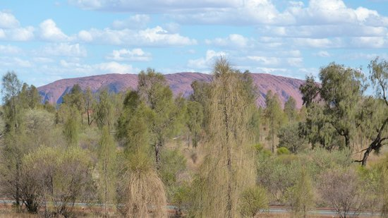 Desert Gardens Hotel, Ayers Rock Resort: Zimmerblick auf Uluru