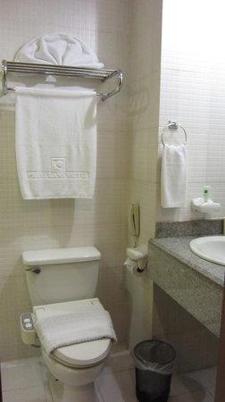 Pearl Lane Hotel: Small Bathroom BUT SUPER CLEAN!!