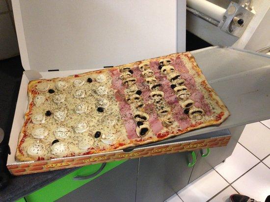 Provenca Pizza & Snack: Plaque pizza