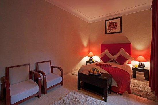 Riad Isis : CHAMBRE ROSE