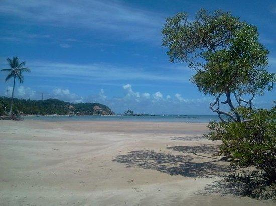Quarta Praia Beach : Vista desde el comienzo de la cuarte playa