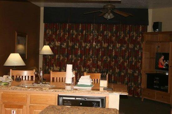 Wyndham Sedona: Roomy living room