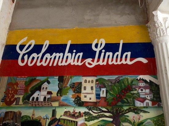 Parque de Los Novios: Colombia belissima