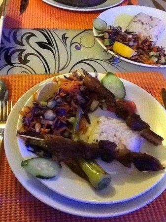 Turkuaz Cafe Restaurant: tasty lamb kapabs