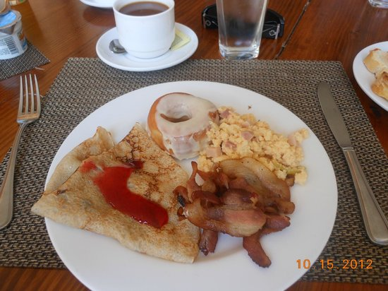 Catalonia Bavaro Beach, Casino & Golf Resort: breakfast was fantastic