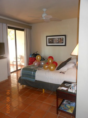 Catalonia Bavaro Beach, Casino & Golf Resort: Room up arrival
