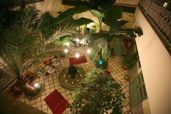 Dar Limoun Amara: Vue du patio