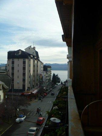 Hotel Nevada: Foto da varanda...Vale a pena!