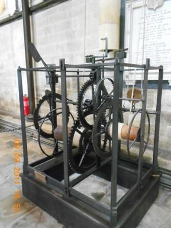 Salisbury Cathedral: world oldest working clock