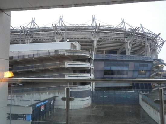 The Croke Park: View from the room