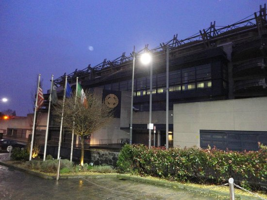The Croke Park: View from the entrance