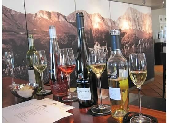 Paarl, Südafrika: sweet wine flight