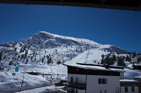 Dolomiti Chalet Family Hotel: vista dalla nostra camera