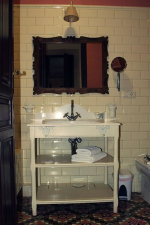 La Vida de Antes Rural Hotel: Baño La Falleba