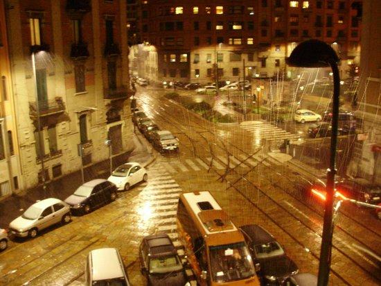 Hotel Calypso Milan : Вид с балкончика