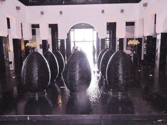 Sofitel Agadir Thalassa Sea & Spa: Fountain Installation in Reception