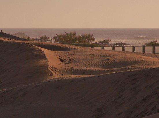 Sofitel Agadir Thalassa Sea & Spa: Sand Dunes view from room