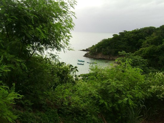 Pousada Vila Pitanga: Vista a playa Joao Fernandinho
