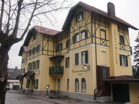 Hotel Triglav Bled: Fachada principal