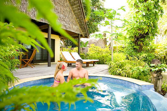 Beqa Lagoon Resort: Private Plunge Pool
