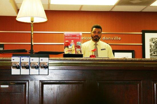 Hampton Inn Danville: Guest Services