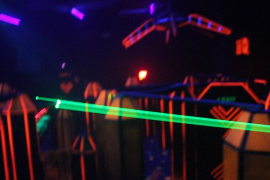 Q-Zar Tampa: Laser tag Arena