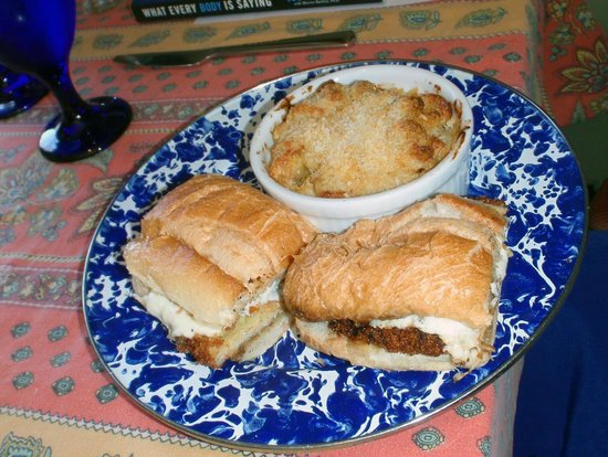 Stone Soup Market & Cafe: Chicken Positano sandwich was outstanding!