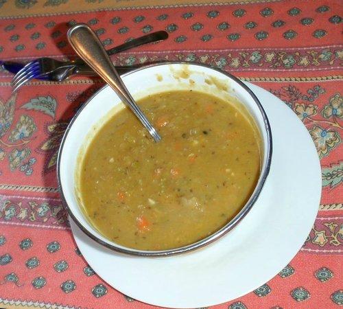 Stone Soup Market & Cafe : Outstanding Split Pea Soup!