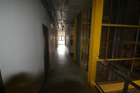 The Warehouse Bangkok : couloir