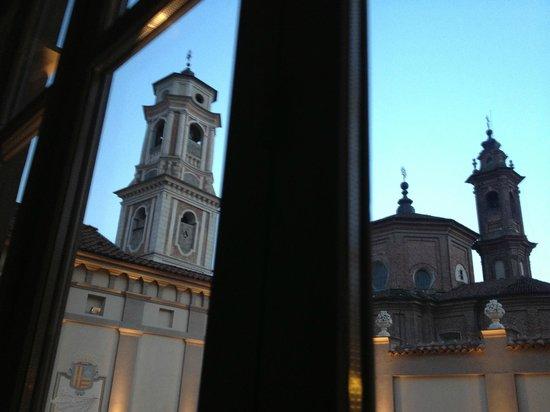 Palazzo Righini: View from corridor