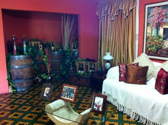 Posada Turistica El Morocho: Sala interior