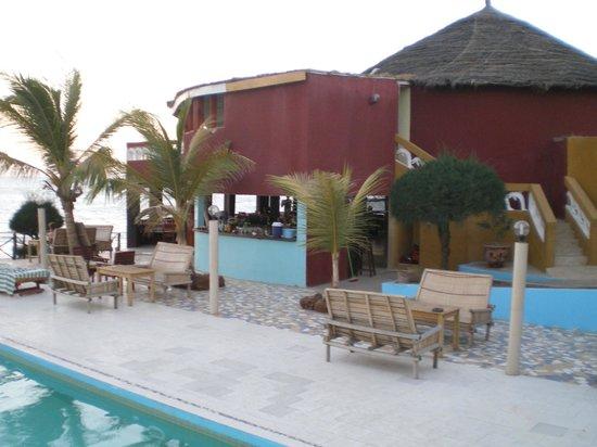Le Warang Hotel : Bar