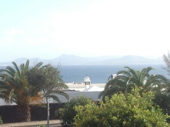 View from villa terrace picture of jardines del sol playa blanca tripadvisor - Jardin de sol playa blanca ...