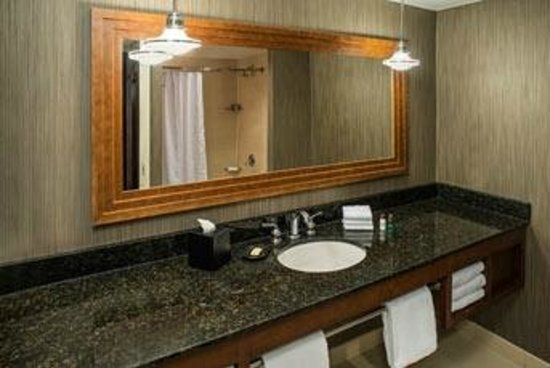 Sheraton Columbus at Capitol Square Hotel: Guest Bathroom