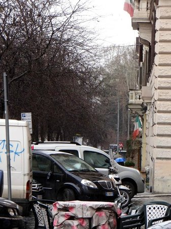 Hotel Giubileo: métro au bout de la   rue