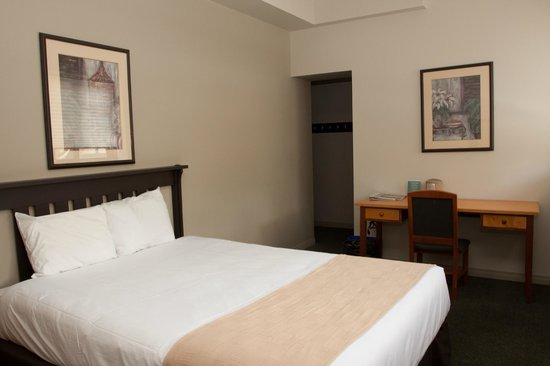 The YWCA Banff Hotel: One of our private rooms renovated in Spring 2013