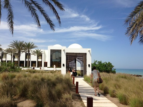 The Chedi Muscat – a GHM hotel: Gartenanlage