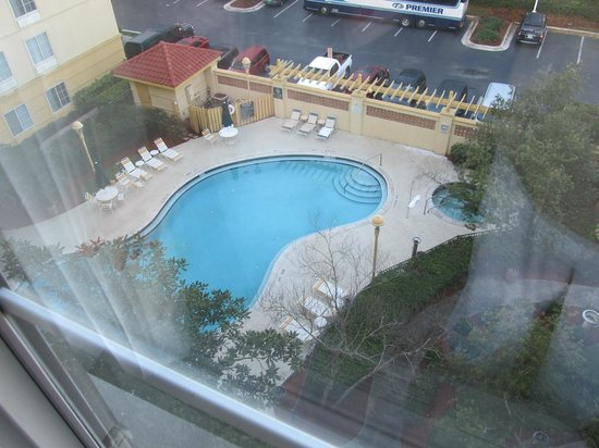 La Quinta Inn & Suites Orlando Convention Center: View from our room