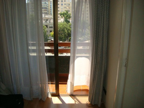 Alessandria Apart Hotel: Vista da varanda