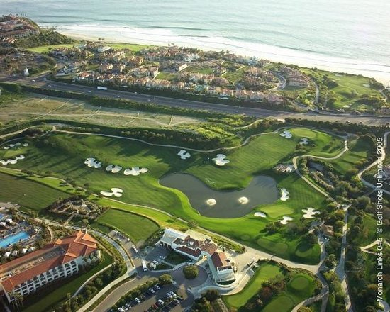 Monarch Beach Golf Links In Dana Point Ca