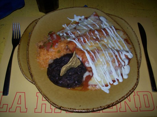 La Hacienda : Yesssss, it's good stuff!