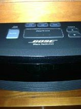 Thorpe Park Hotel & Spa: Bose sound system