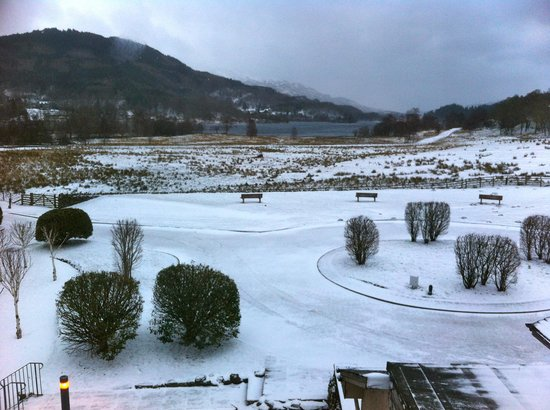Loch Achray Hotel: View from our room