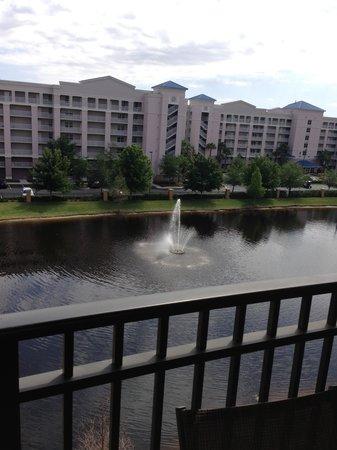 Floridays Resort Orlando: Vista desde el Balcon