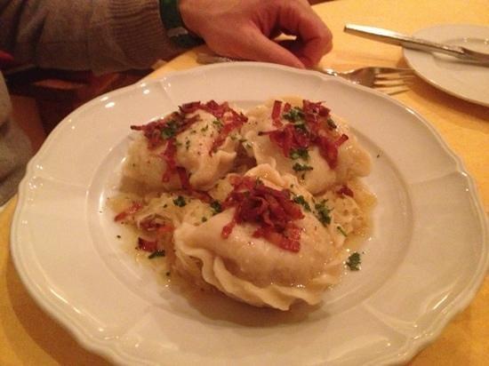 Kaufmann & Kaufmann : pasta di carne con pancetta e crauti