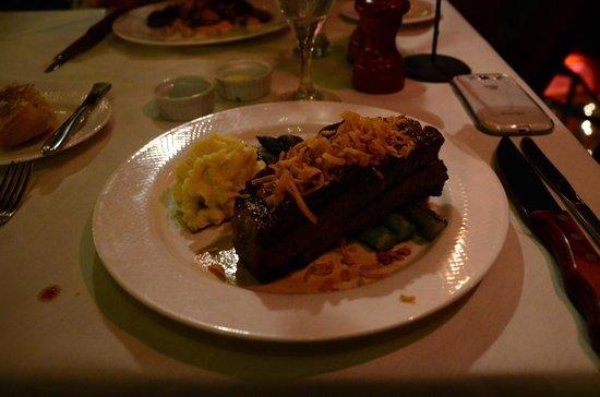 16 oz prime NY steak