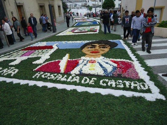 Don Chuleton : Fistas Patronales de Burela, alfombra floral.
