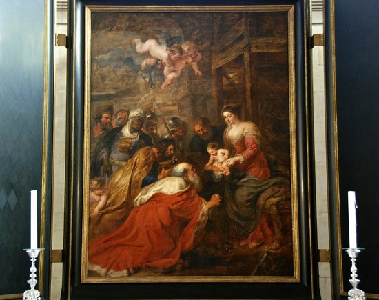 Rubens Adoration Of The Magi Picture Of Kings College Chapel - Most recent magi map by us states