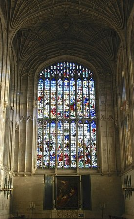 King's College Chapel: East Window over Altar